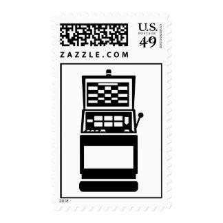 Slot machine casino stamps