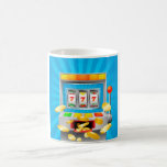 Slot Machine Classic White Coffee Mug