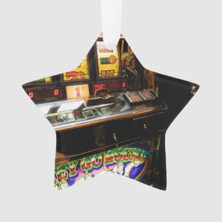 Slot Machine Closeup