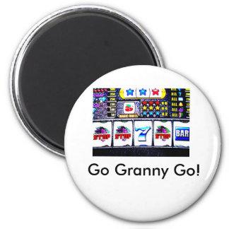 Slot machine, Go Granny Go! Magnets