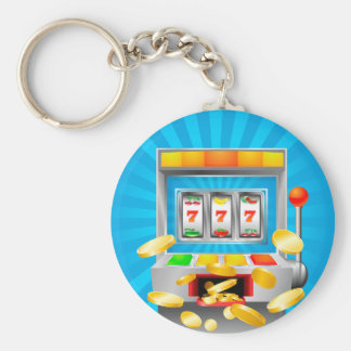 Slot Machine Keychain