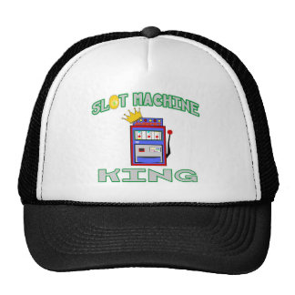 Slot Machine King Trucker Hats