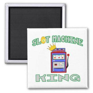 Slot Machine King Fridge Magnets