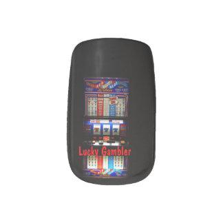 Slot Machine Lucky Gambler Minx® Nail Art