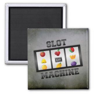 SLOT MACHINE MAGNET