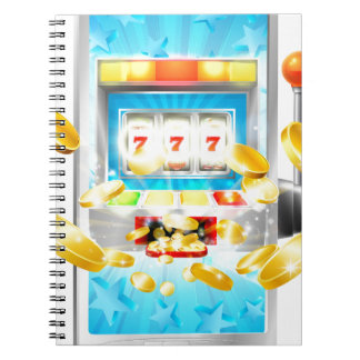 Slot Machine Mobile Phone Concept Notebook