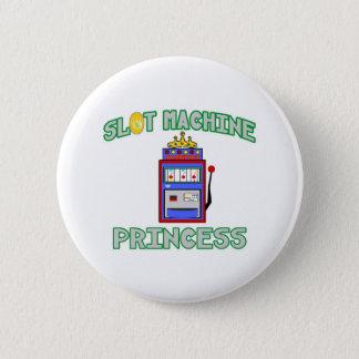 Slot Machine Princess (Tiara) Pinback Button