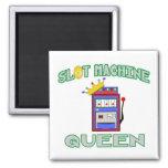 Slot Machine Queen Fridge Magnet
