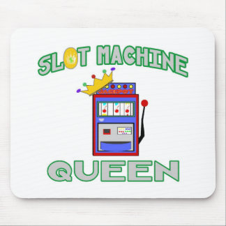 Slot Machine Queen Mouse Pad