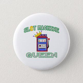 Slot Machine Queen Pinback Button