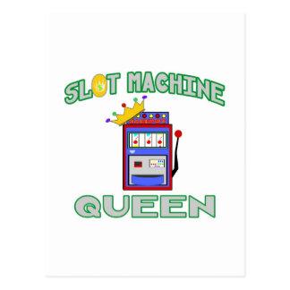 Slot Machine Queen Postcards
