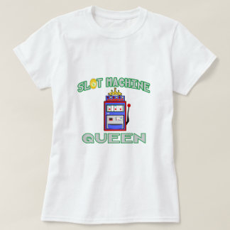 Slot Machine Queen (Tiara) Tshirts