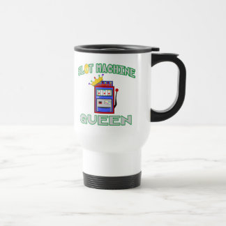 Slot Machine Queen Travel Mug
