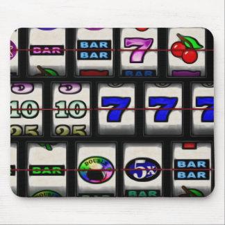 Slot Machine Reels Mouse Pad