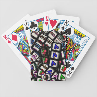 Slot Machine Reels Card Deck