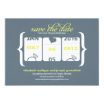 Slot Machine Save the Date - Wedding Card