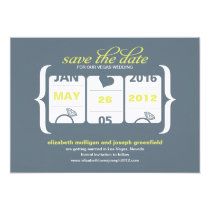 Slot Machine Save the Date - Wedding Card