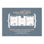 Slot Machine Save the Date - Wedding Custom Announcement
