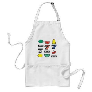 Slot Machine Slots Fruits - Play To Win Charms Apron
