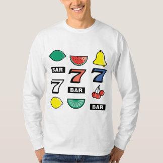 Slot Machine Slots Fruits - Play To Win Charms T-Shirt