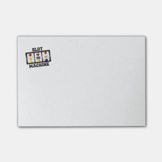 Slot Machine Tilted Icon Post-it® Notes