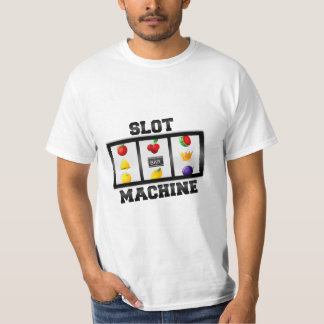 Slot Machine Tilted Icon T-Shirt