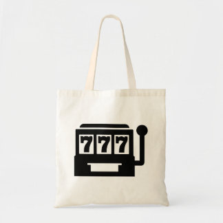 Slot machine tote bag