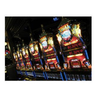 Slot Machines Postcard