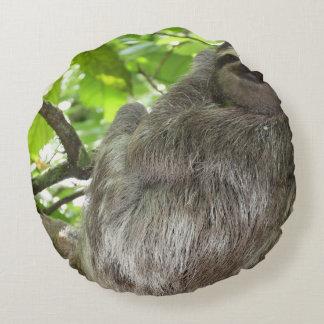 sloth-14.jpg round pillow