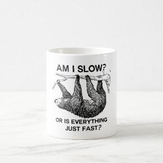 Sloth am I slow? Coffee Mug