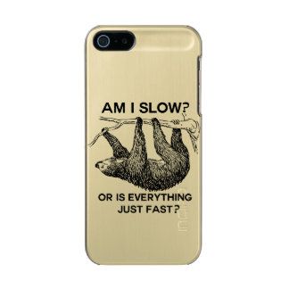Sloth am I slow? Incipio Feather® Shine iPhone 5 Case
