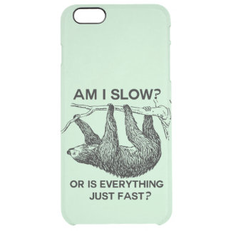 Sloth am I slow? Uncommon Clearly™ Deflector iPhone 6 Plus Case