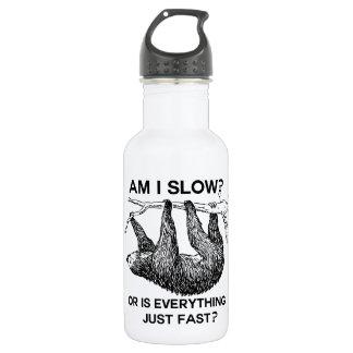 Sloth am I slow? Water Bottle