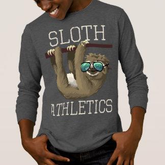 Sloth Athletics Funny Sunglasses Boys Kids Zoo T-Shirt