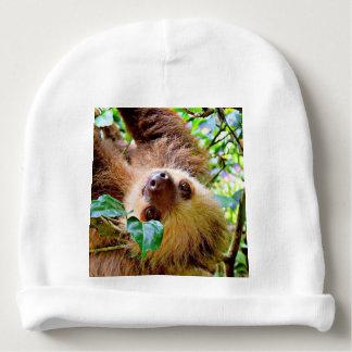 Sloth Baby Beanie
