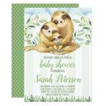 Sloth Baby Shower Invitation Invite