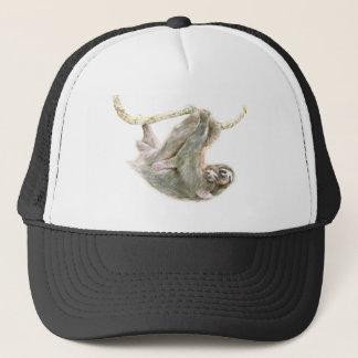 "Sloth, baby with mum ""Big Hugs"" Trucker Hat"