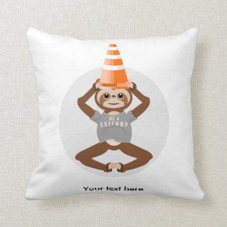 Sloth Be A Unicorn Throw Pillow
