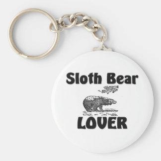 Sloth Bear Lover Keychain