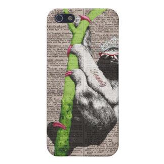 Sloth Beauty Queen IPhone 5 Case