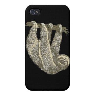 Sloth (Black) iPhone 4 Case