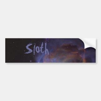 Sloth Bumper Sticker