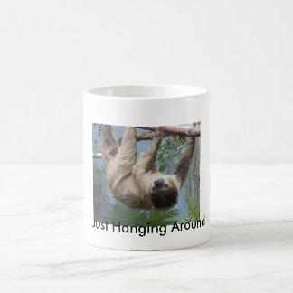 Sloth Classic White Coffee Mug