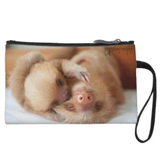 Sloth Clutch Wristlets