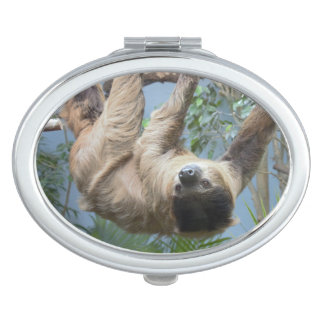 Sloth Compact Mirror