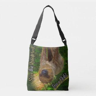 Sloth Cross Body Bag