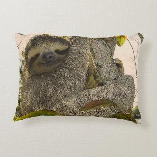 sloth decorative pillow