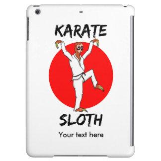 Sloth Doing Karate Funny Martial Arts iPad Air Cover