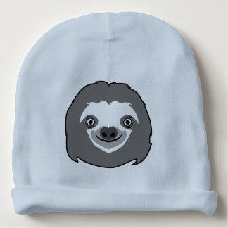 Sloth Face Baby Beanie