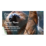 Sloth Face Business Cards